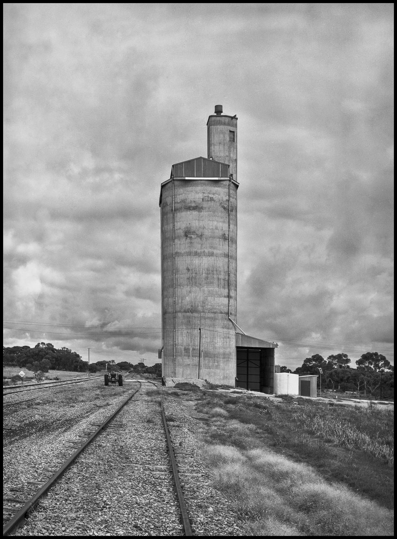 silo, SA Mallee