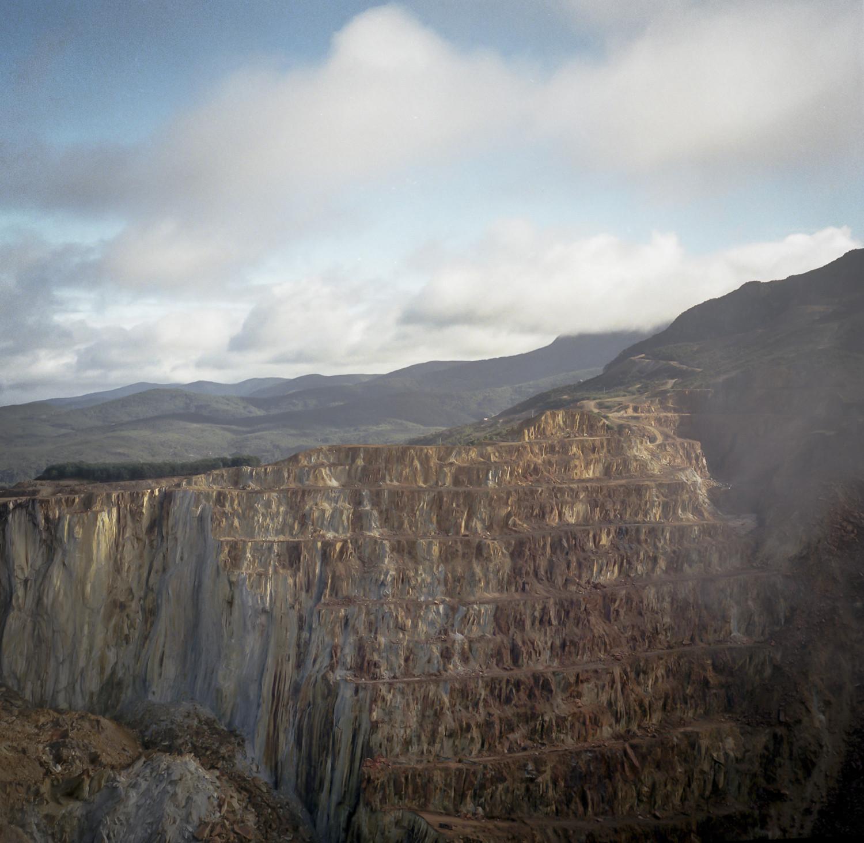 Mt Lyell open cut mine