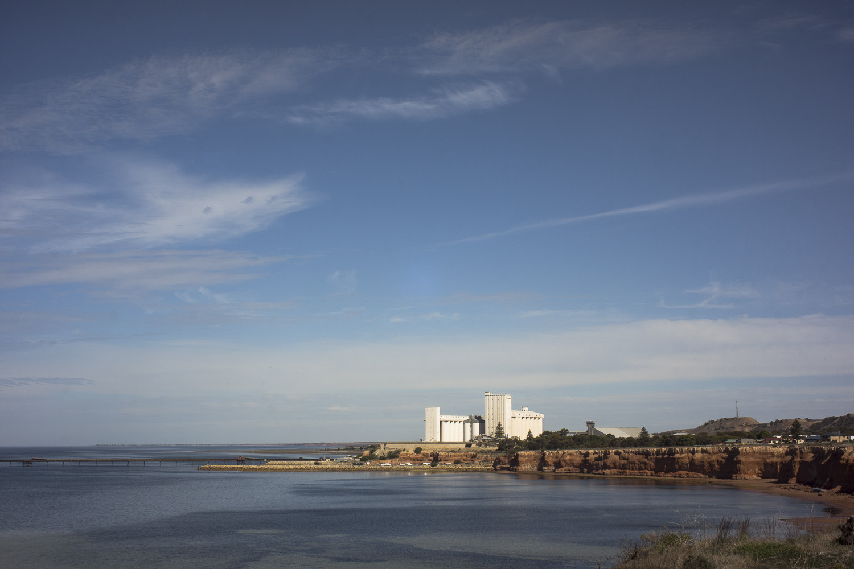 silos, Ardrossan