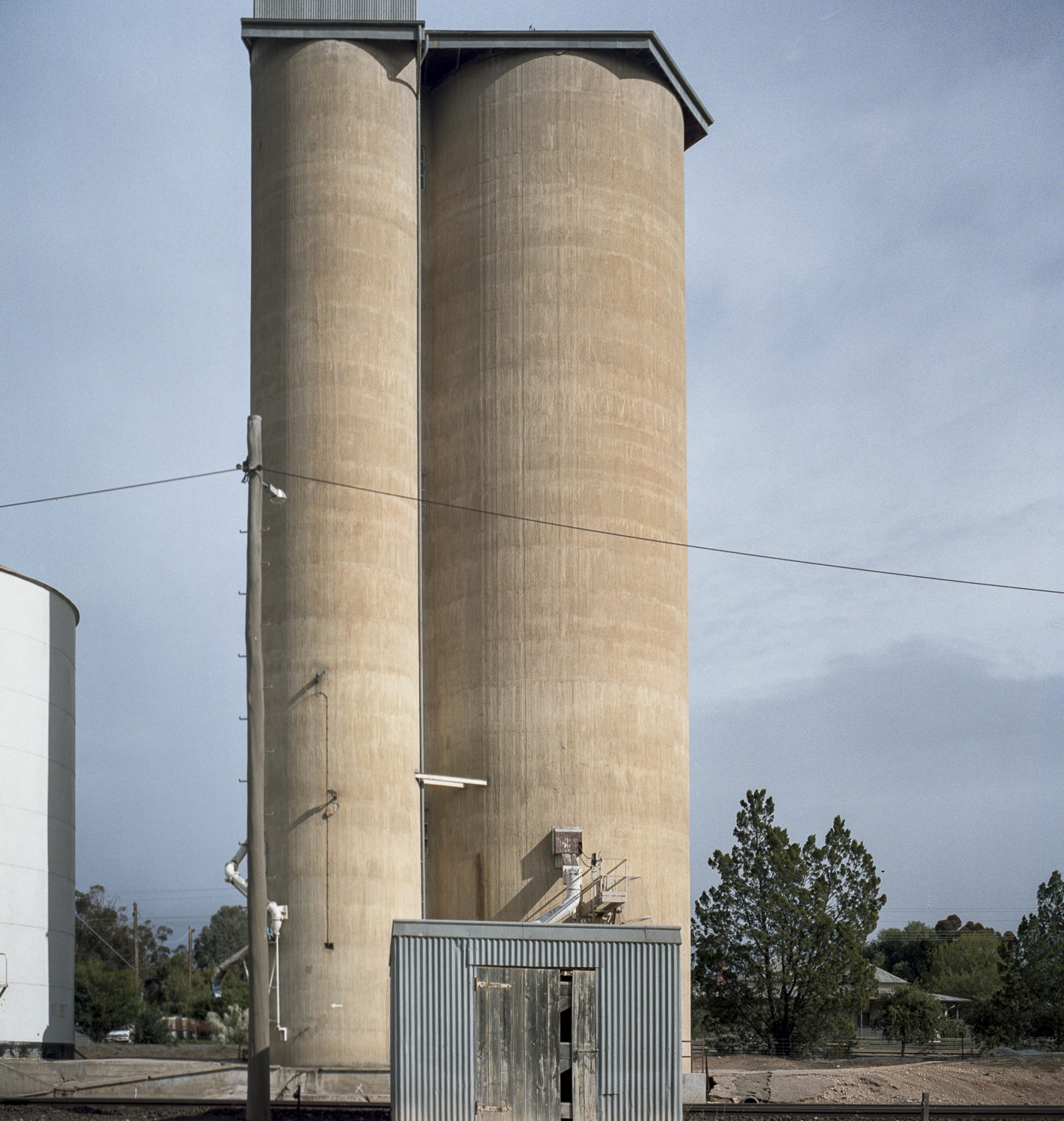 silo+house, Mallee Highway
