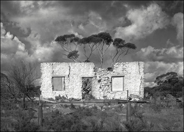 ruins, Mantung, SA