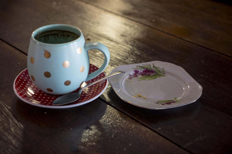 mug +plate, Hopetoun